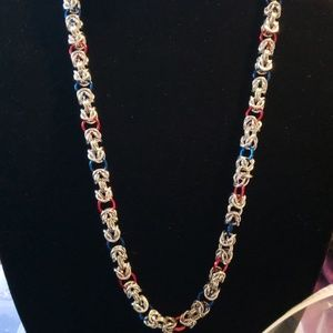 Jewelry - Chainmaille Byzantine Necklace